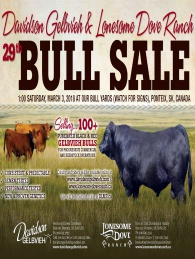 Click here to see the Davidson Gelbvieh 2018 Bull Sale catalogue.