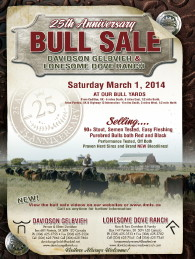 Click here to see the Davidson Gelbvieh 2014 Bull Sale catalogue.